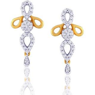 Nirvana Diamond Earrings PEK518SI-JK18Y