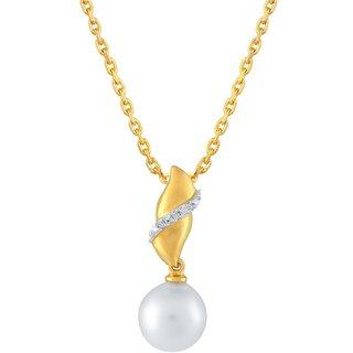 Beautiful sparkling diamond  Pendant ABP063SI-JK18Y