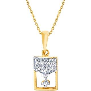 Asmi Diamond Pendant DDP02909SI-JK18Y