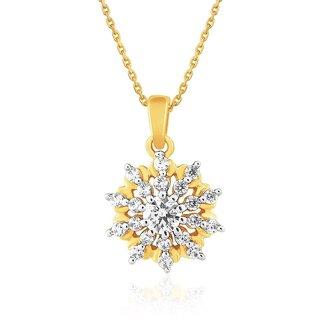 Sangini Diamond Pendant NPC539SI-JK18Y