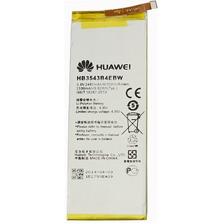 Snaptic Original Li Ion Polymer Battery HB3543B4EBW for Huawei Mobile Phones with Replacement Warranty