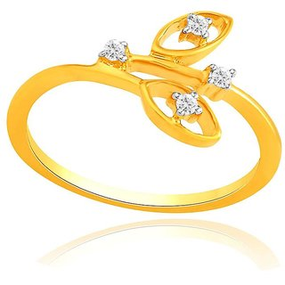 Beautiful sparkling diamond  Ring IDR00328SI-JK18Y