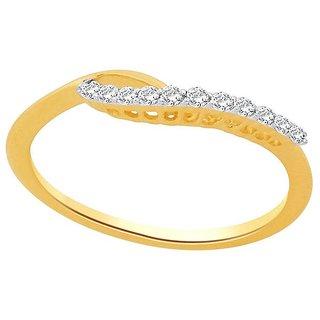 Asmi Diamond Ring ADR00423SI-JK18Y