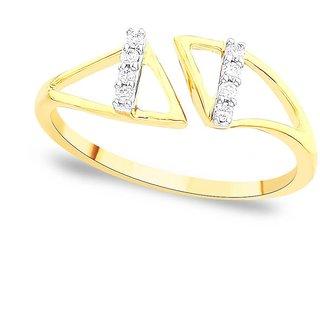 Asmi Diamond Ring DDR03220SI-JK18Y