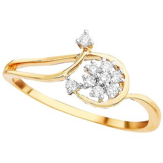 Shuddhi Diamond Ring DDR03770SI-JK18Y
