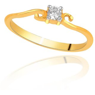 Me-Solitaire Diamond Ring DR269SI-JK18Y