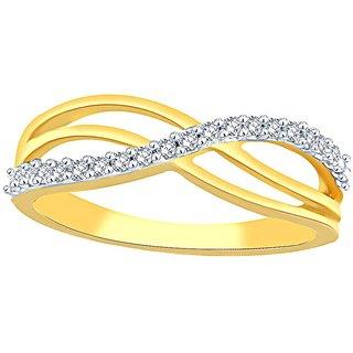 Asmi Diamond Ring RDR00252SI-JK18Y