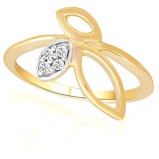 Asmi Diamond Ring ADR00657SI-JK18Y