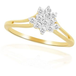 Beautiful sparkling diamond  Ring NRC1020SI-JK18Y