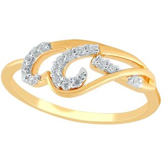 Asmi Diamond Ring PR21155SI-JK18Y