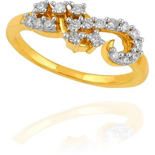 Maya Diamond Diamond Ring PR12843SI-JK18Y
