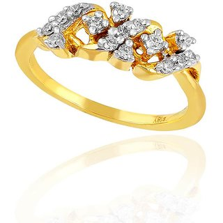 Maya Diamond Diamond Ring PR12952SI-JK18Y