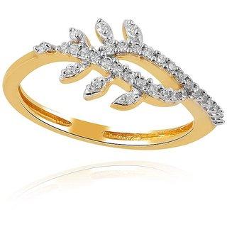 Asmi Diamond Ring AAR342SI-JK18Y