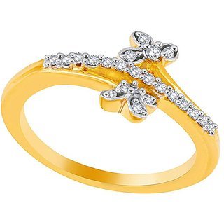 Asmi Diamond Ring PR10543SI-JK18Y