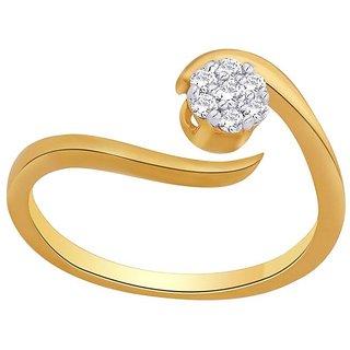 Nirvana Diamond Ring NRC749SI-JK18Y