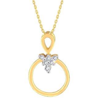 Asmi Diamond Pendant PP14893BSI-JK18Y