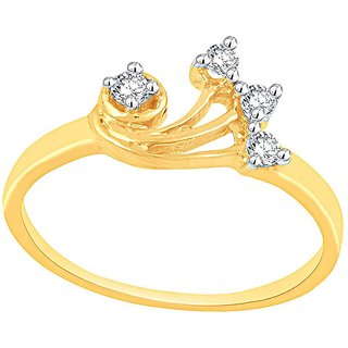 Asmi Diamond Ring AR445SI-JK18Y