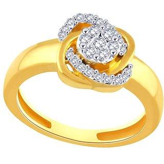 Nirvana Diamond Ring PR006SI-JK18Y