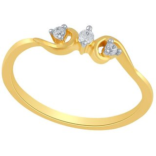 Asmi Diamond Ring PR18748SI-JK18Y