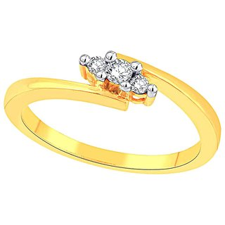 Diya Diamond Ring DNR1414SI-JK18Y