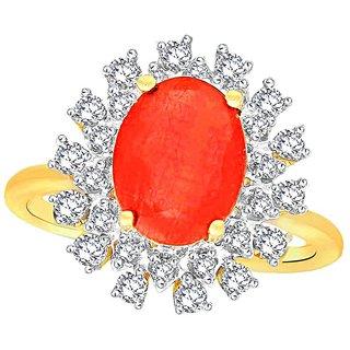 Gili Diamond Ring LR10394SI-JK18Y