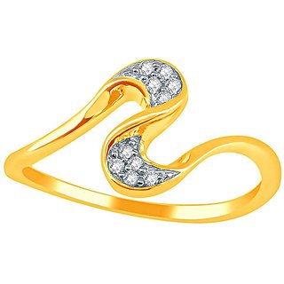 Asmi Diamond Ring LRL290SI-JK18Y