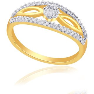 Beautiful sparkling diamond  Ring RDR00227SI-JK18Y