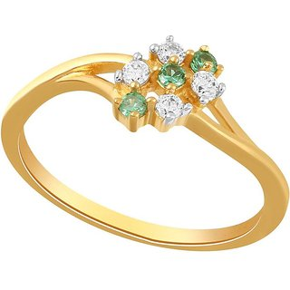 Beautiful sparkling diamond  Ring PR19019SI-JK18Y