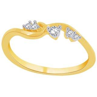 Asmi Diamond Ring PR14488SI-JK18Y