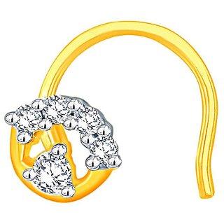 Shuddhi Diamond Nosepin LJ4188SI-JK18Y