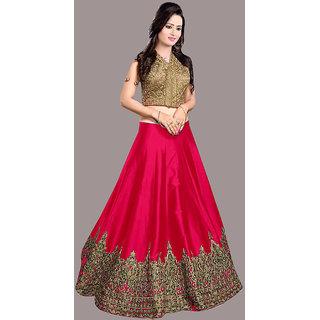 1 Stop Fashion Pink Banglori Traditional Wear Lehenga Choli