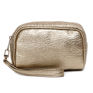 Cappuccino Gold Travel Pouch
