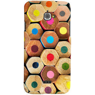 Oyehoye Colourful Pattern Style Printed Designer Back Cover For Infocus M350 Mobile Phone - Matte Finish Hard Plastic Slim Case