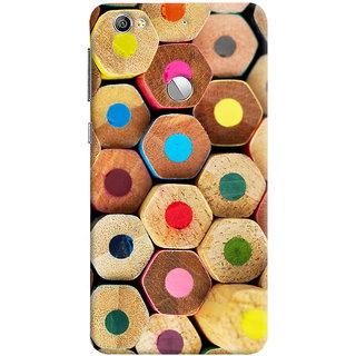 Oyehoye Colourful Pattern Style Printed Designer Back Cover For LeEco LE1S Mobile Phone - Matte Finish Hard Plastic Slim Case