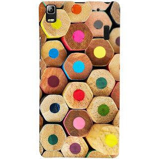 Oyehoye Colourful Pattern Style Printed Designer Back Cover For Lenovo K3 Note / A7000 Turbo Mobile Phone - Matte Finish Hard Plastic Slim Case