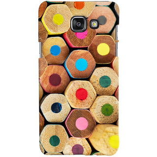 Oyehoye Colourful Pattern Style Printed Designer Back Cover For Samsung Galaxy A5 A510 (2016 Edition) Mobile Phone - Matte Finish Hard Plastic Slim Case
