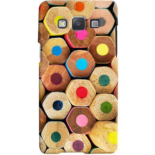 Oyehoye Colourful Pattern Style Printed Designer Back Cover For Samsung Galaxy A5 (2015) Mobile Phone - Matte Finish Hard Plastic Slim Case
