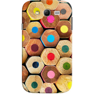 Oyehoye Colourful Pattern Style Printed Designer Back Cover For Samsung Galaxy Grand Neo / NEO GT Mobile Phone - Matte Finish Hard Plastic Slim Case