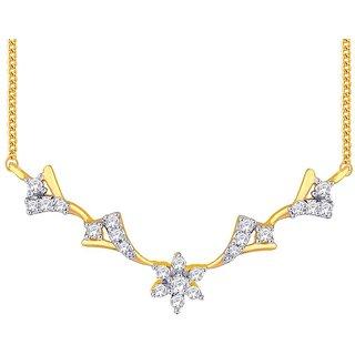 Beautiful sparkling diamond  Tanmaniya NTC277SI-JK18Y