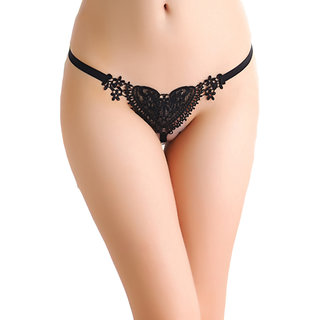 lace string Black g
