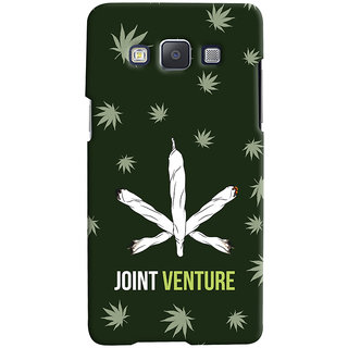 Oyehoye JOINT Venture Quirky Printed Designer Back Cover For Samsung Galaxy A5 (2015) Mobile Phone - Matte Finish Hard Plastic Slim Case