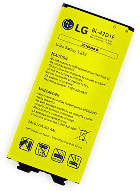 Snaptic Original Li Ion Polymer Battery BL42D1F for LG G5 with Replacement  Warranty