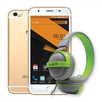 Reach Allure 5.5 HD Screen, 10MP + 5MP Camera,(With Headphone Worth Rs 999)