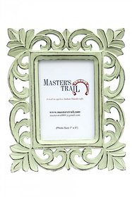 Distressed Pearl Green Photo Frame