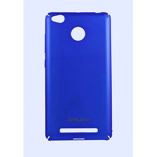 new product 6d8f5 408e3 iPAKY Full Plastic Back Cover Blue Color For Redmi 3S / 3S Prime