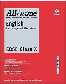 All In One English Language  Literature CBSE Class 10th Term-1