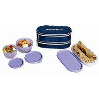 SIGNORAWARE DOUBLE DECOR  LUNCH BOX WITH BAG