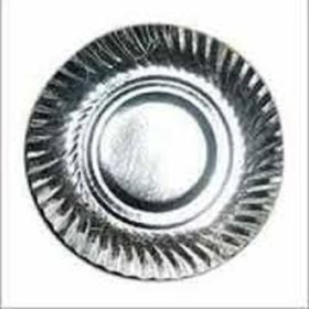 Kamal Trading Company Silver Foil Paper Plates