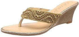 Catwalk Women's Gold Wedges
