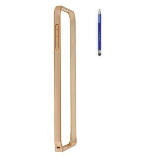 Apple Iphone 4S Bumper Case Cover Golden With Stylus Pen